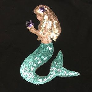 Other - Sequined iron on mermaid patch applique 4 shirt